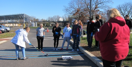 Parking Lot Paint is School's Latest Step to Shrink Environmental Footprint